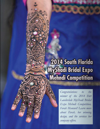South Florida Mehndi Competition