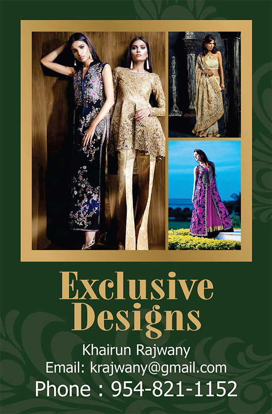 Exclusive Design By Khairun Rajwany