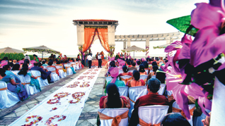 Trenders in Indian wedding by Rina Shah