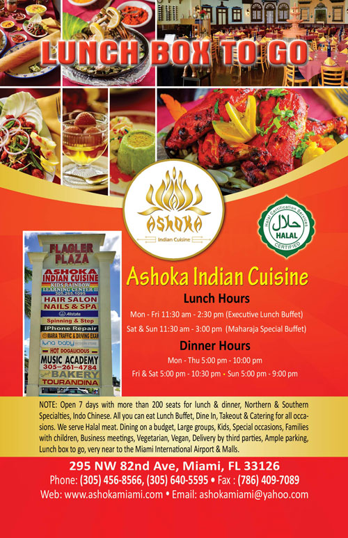 ashoka indian cuisine myshadi bridal expo