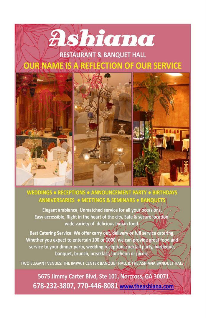 Ashiana Restaurant & Banquet Halls