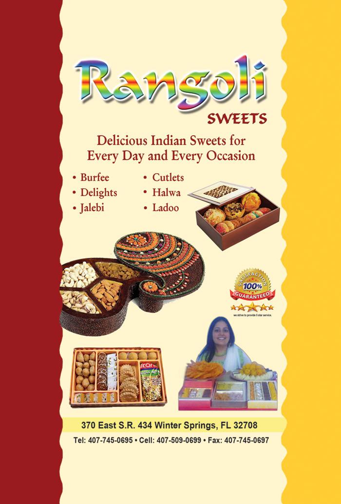 Rangoli Sweets Of Florida