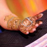 2014 Atlanta MyShadi Bridal Expo Mehndi Competition by Rina Shah, The Arpan Group