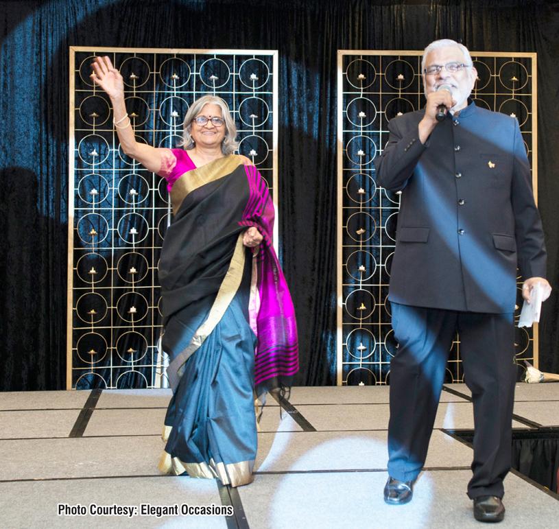Raj and Aruna Shah, founders of Desh Videsh Media Group
