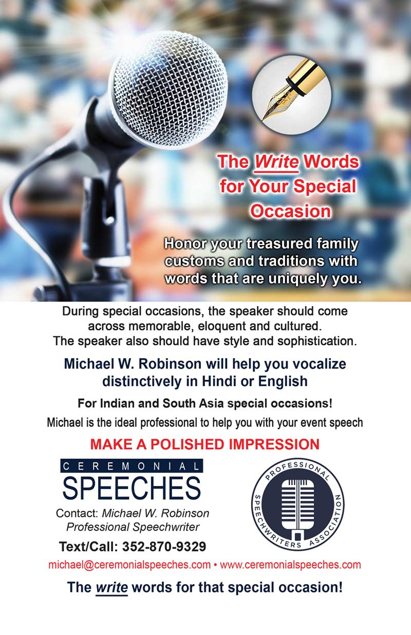 Ceremonial Speeches